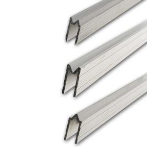 profilés aluminium d'emboitement accessoire flycase